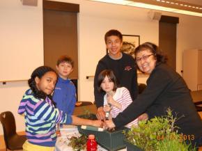 Jakki VoY 2013 with kids