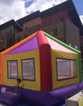What's a carnival without a bouncy house?